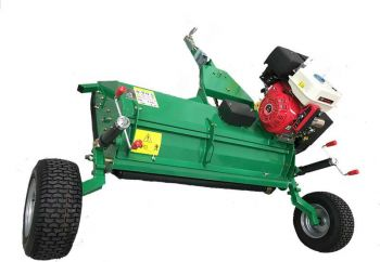 ATV / Quad Bike Tow Behind 15HP Flail Mower / Topper with E-start + 150cm working width