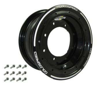 GS: 10X5.5 4/144/156 4+1.5 B BEAD LOCK BLACK - BLACK RING