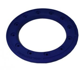 GS:BEAD-LOCK RING 9-INCH BLUE POLYMER CARBON