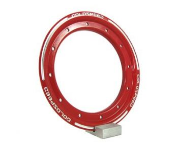 GS:BEAD-LOCK RING 9-INCH RED