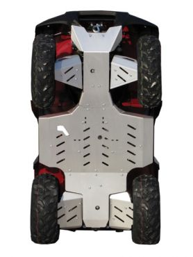 Skid plates full kit - Kawasaki