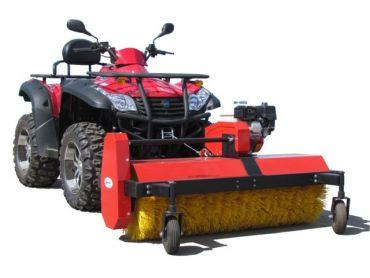 ATV rotary broom, 6.5 hp B&S engine