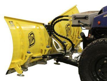 V-Plow snow plough 180cm - hydraulic turning version