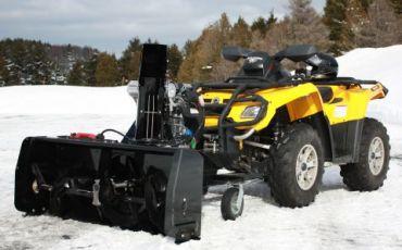"""ATV Snow Blower 48"""" (122CM) 14HP Kohler engine"""