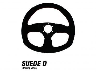 DRAGONFIRE Suede D Steering Wheel
