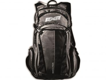 Shelter RXR backpack with inflatable back protection