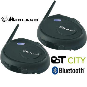 Midland BT CITY TWIN INTERCOM BLUETOOTH KIT