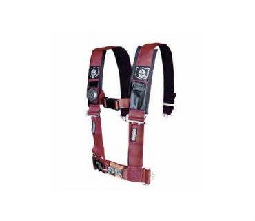 "Pro Armor - 3"" 5PT SEAT BELT HARNESS RED"
