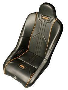 Pro Armor SEAT BLACK INCL ORANGE STITCH