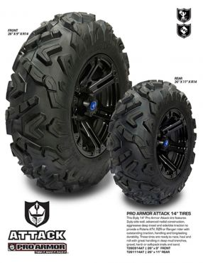 PRO ARMOR - ATTACK TYRE FRONT 26X9-14 8PR 77F