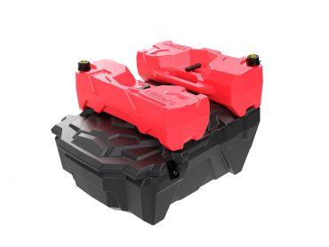UTV / SXS rear storage box for Polaris RZR 1000