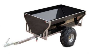ATV trailer with 540 kg load capacity