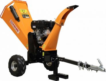 Wood chipper with 14HP Briggs & Stratton engine